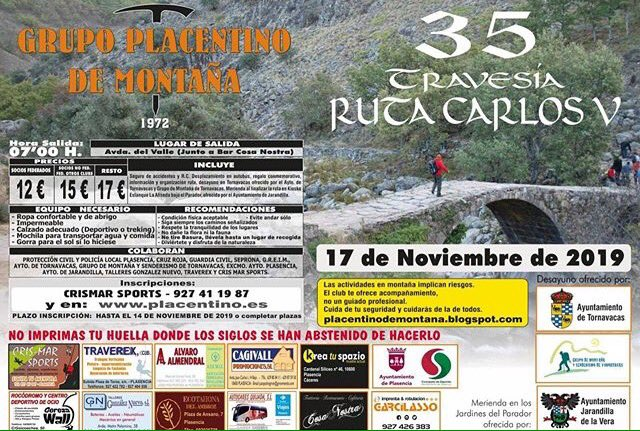 35 travesía ruta Carlos V