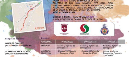 IV Carrera popular nocturna 'Ciudad de Plasencia'