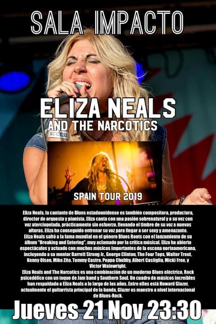 Concierto Eliza Neals