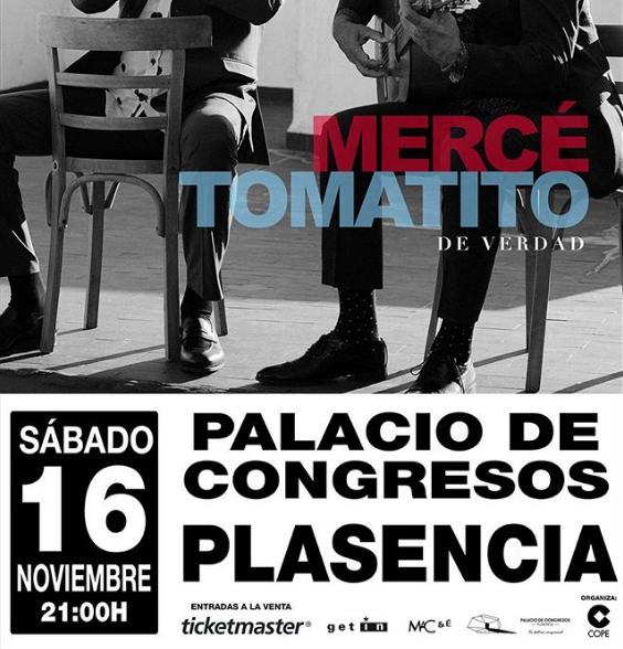 Concierto José Mercé y Tomatito