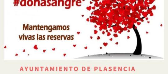 Donación de sangre en Plasencia