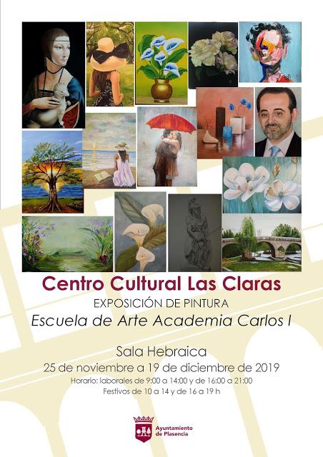 Exposición alumnos academia Carlos I