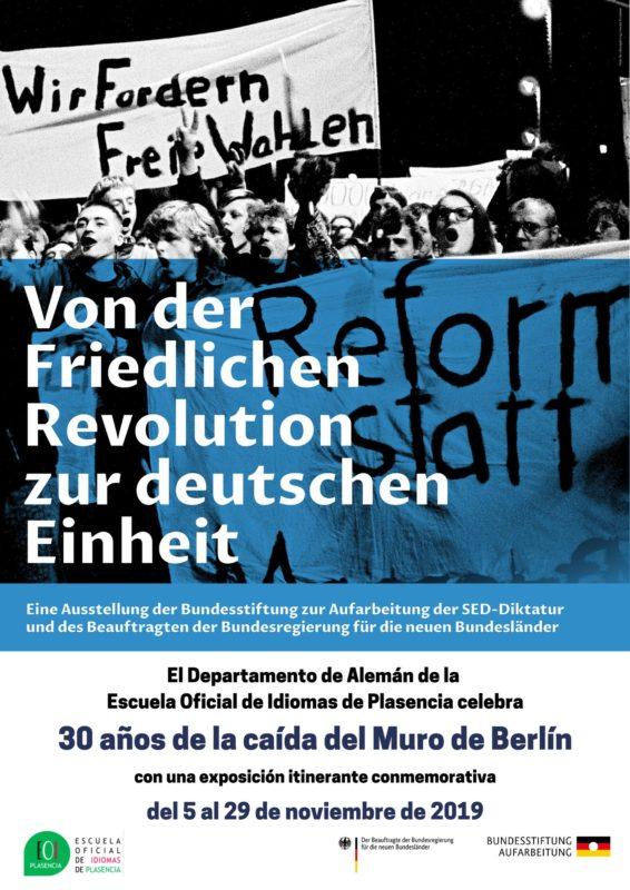Exposición caída Muro Berlín