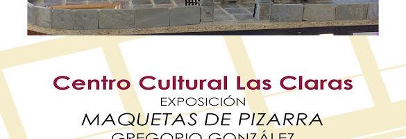 Exposición 'Maquetas de pizarra'