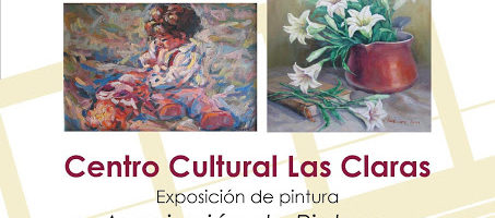 Exposición de pintura de la Asociación de Pintores con la Boca y con el Pie