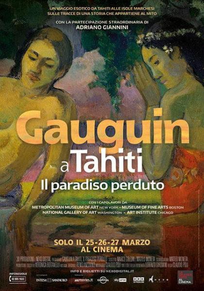 Cine con arte 'Gauguin en Tahití'