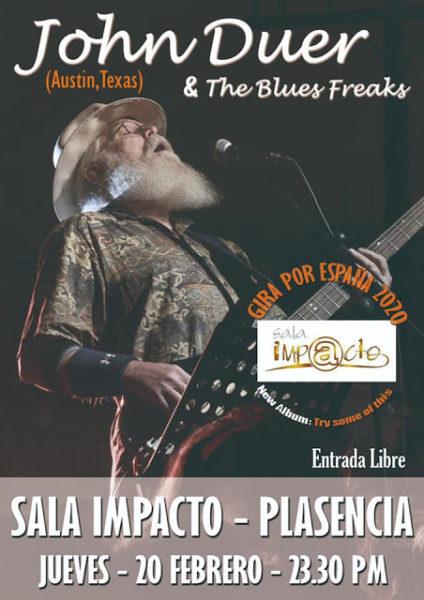 Concierto John Duer & The blues Freaks