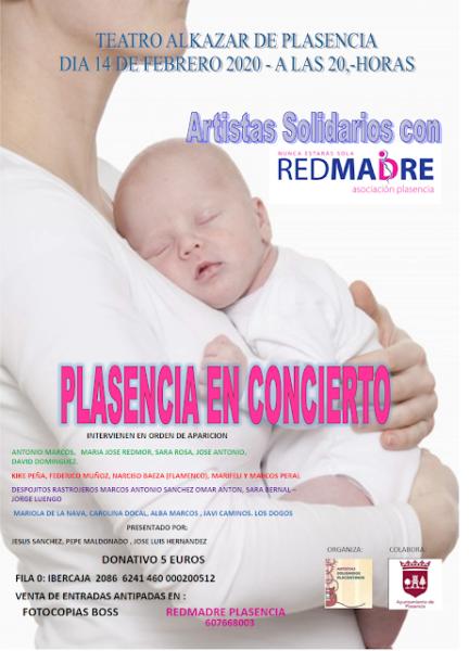Gala solidaria Plasencia en concierto