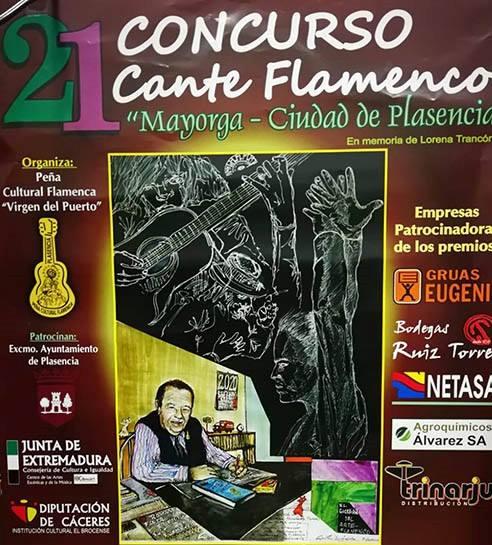 Concurso cante flamenco Mayorga-Ciudad de Plasencia