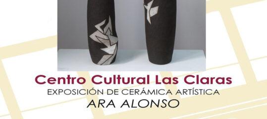 Exposición cerámica artística de Ara Alonso