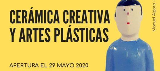 Exposición benéfica 'Cerámica creativa y artes plásticas'