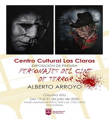 Exposición cine terror Plasencia
