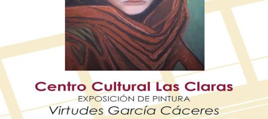 Exposición de pintura de Virtudes García Cáceres