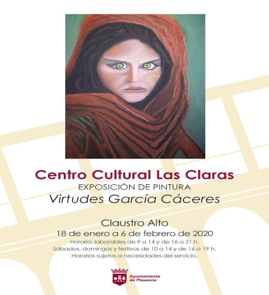 Exposición de pintura de Virtudes García Cáceres.