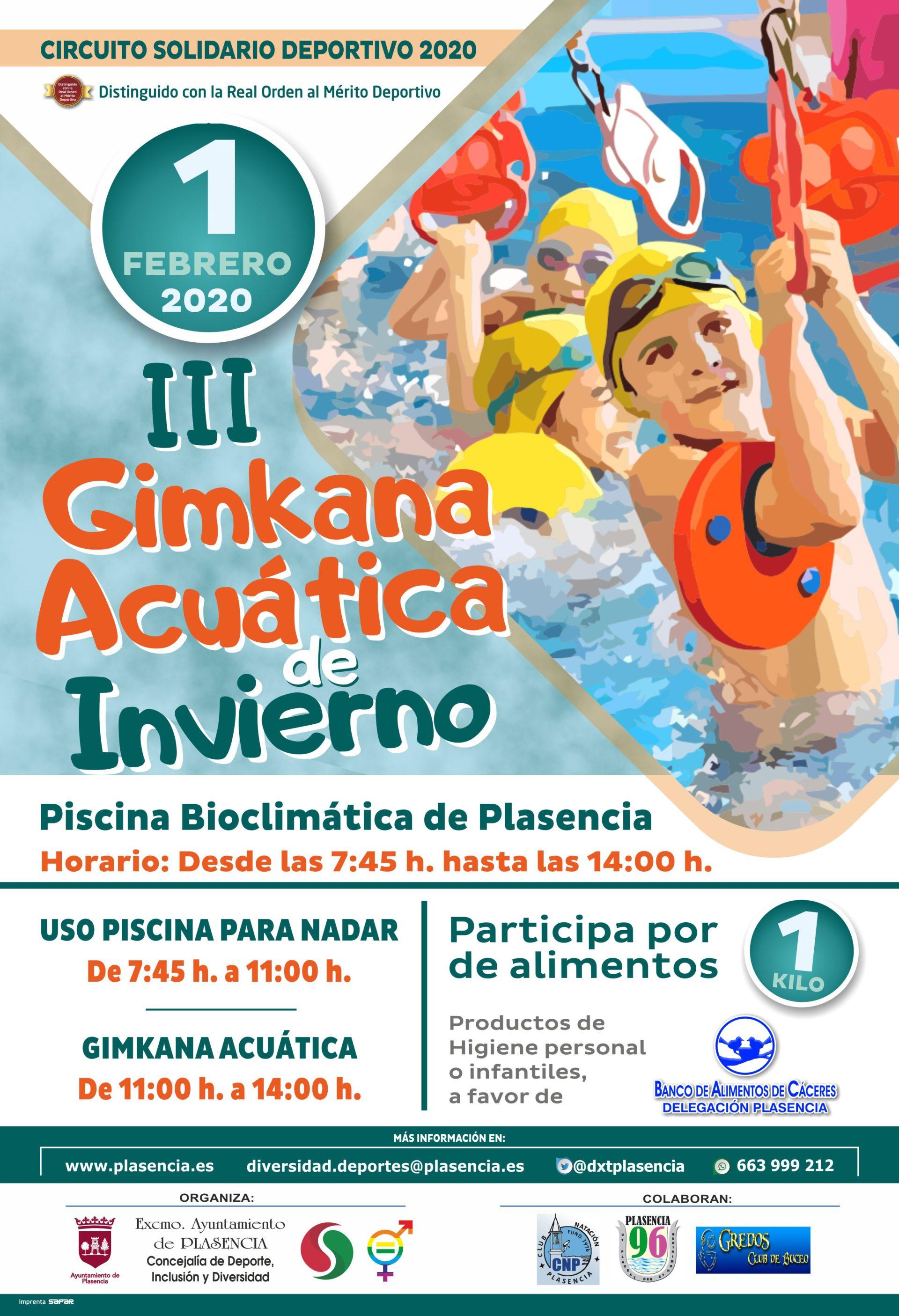 III Gimkana acuática de invierno