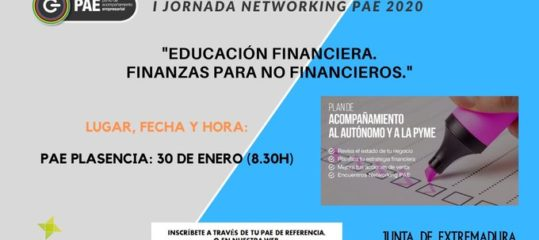 I Jornada Networking 'Educación financiera, finanzas para no...