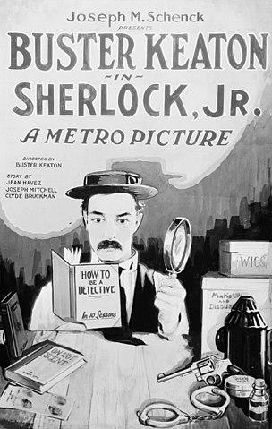 Proyección el moderno Sherlock Holmes Plasencia