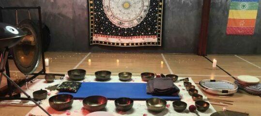Sesiones con cuencos Tibetanos