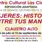Exposición 'Mujeres: Historia entre tus manos'