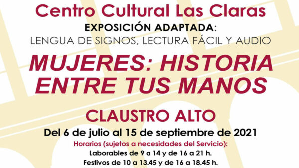 Exposición Mujeres historia entre tus manos
