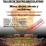 Taller de teatro Grecolatino