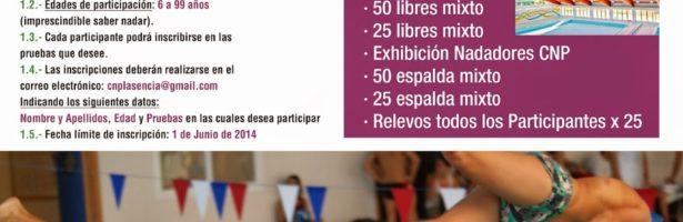I Campeonato de natación 'PlasenciaTambienNada'