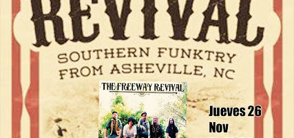 Concierto de 'The Freeway Revival'