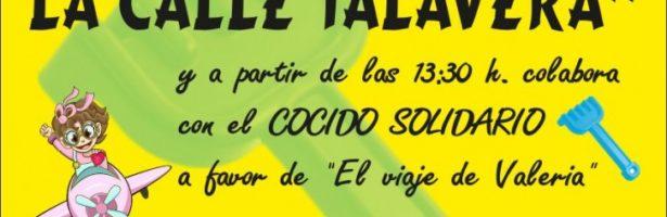 Rastrillo solidario de la Calle Talavera