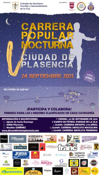 Carrera Popular Nocturna Plasencia