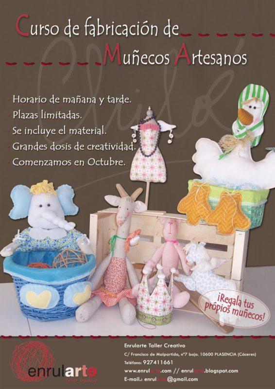 Curso de muñecos artesanales Plasencia