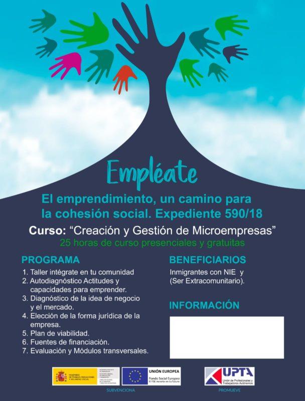 Curso gratuito Plasencia creación y gestión de Microempresas