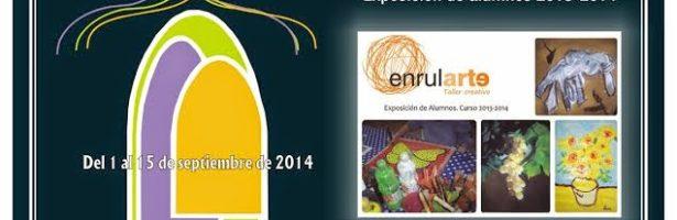 Exposición de alumnos Enrularte 2013-2014