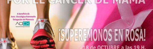 II Marcha Rosa por el Cáncer de Mama 2014