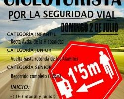 I Marcha Cicloturista por la Seguridad Vial