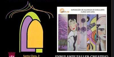 Exposición de alumnos de Enrularte, curso 2015-2016