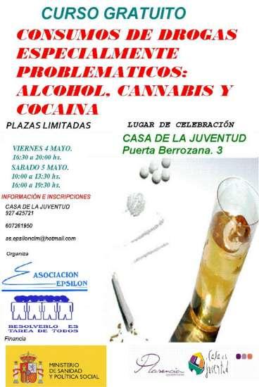 Curso drogas Plasencia