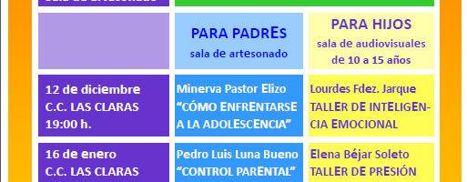 Nuevo curso de la Escuela de Madres y Padres