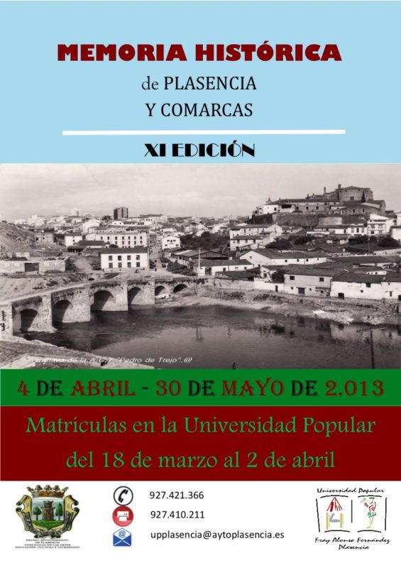 Memoria Histórica Plasencia 2013