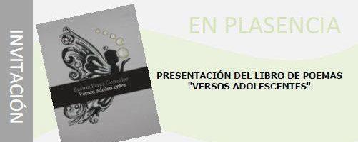 Presentación del libro 'Versos adolescentes'