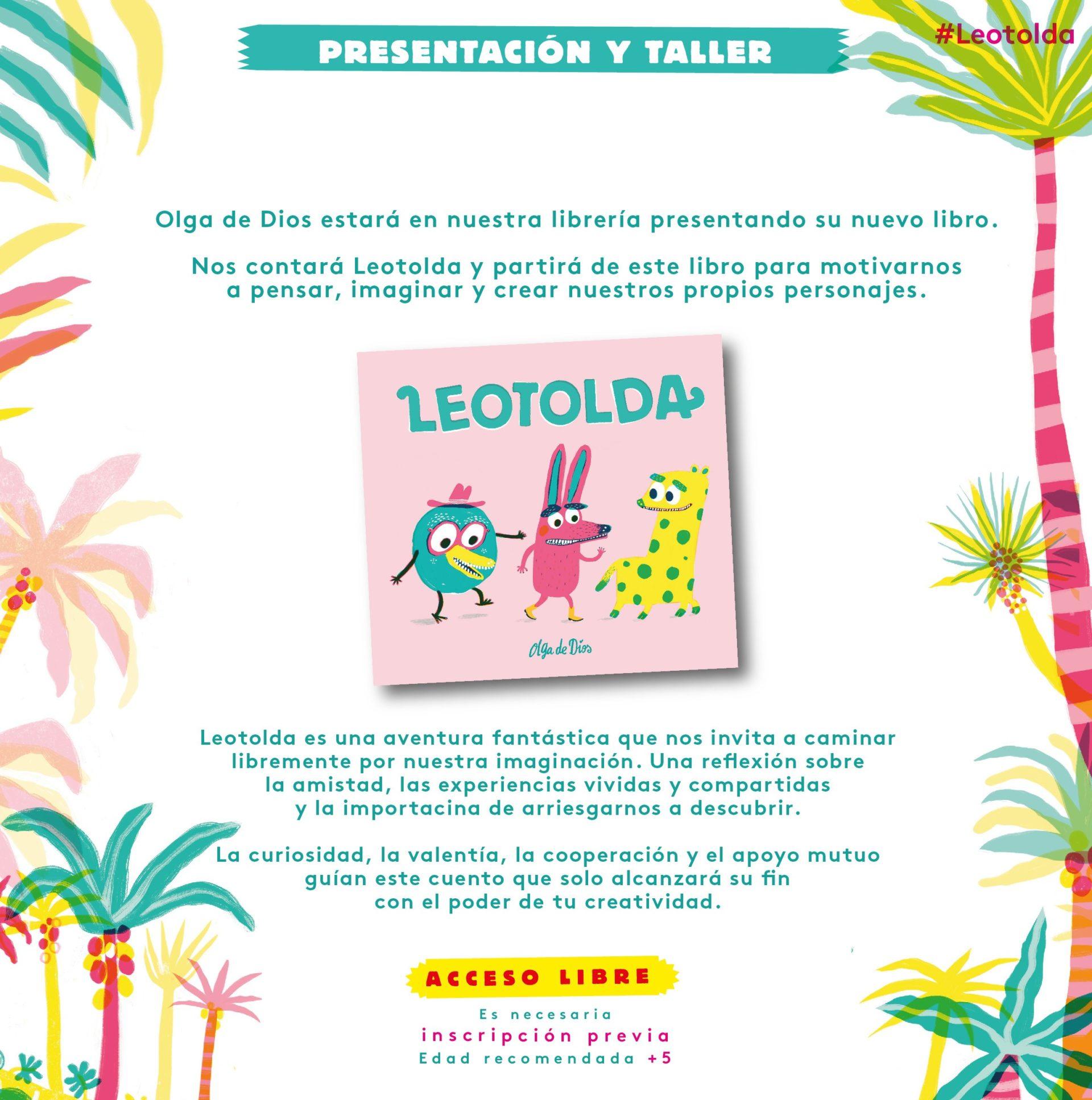 Presentación y taller del libro 'Leotolda'
