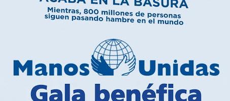 Gala benéfica a favor de 'Manos Unidas'
