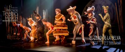 Teatro musical infantil 'La aventura de Mogwli'