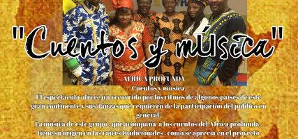 África profunda: Cuentos y música