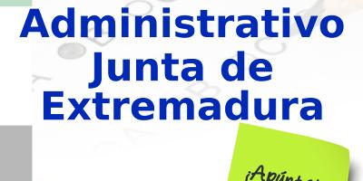 Clases de Oposiciones Auxiliar Administrativo de la Junta de Extremadura